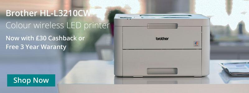 Brother HL-L3210CW imprimante de bureau à domicile et petite entreprise