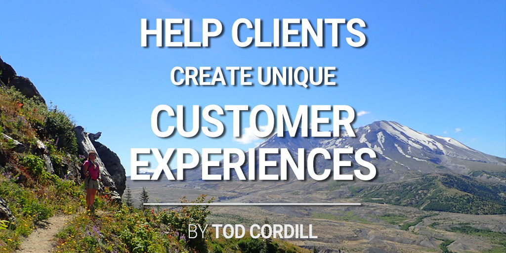 aider les clients à créer des expériences client uniques